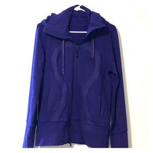 Lululemon purple hoodie size 10 with thumb holes